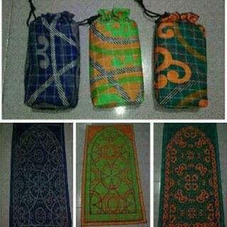 Sajadah Traveling bisa buat souvenir dan syukuran,parcel Idul Fitri dll minim oder 20pcs