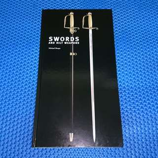 🆒 Swords and Hilt Weapons by Michael Sharpe [Hardcover]