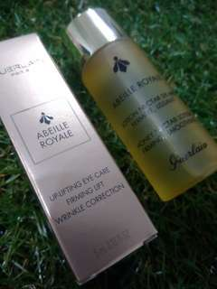 Guerlain Abeille Royale Eye Cream & Lotion/face toner
