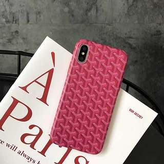 Goyard phone case - iPhone 7/8 or iPhone X