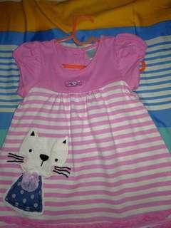 Dress Pink Dog 6-9M size M