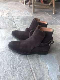 meermin jodhpur boot brown suede