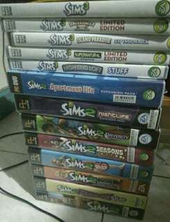 Sims 2, 3 and 4 Bundle