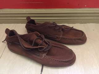 Brown shoes size 11