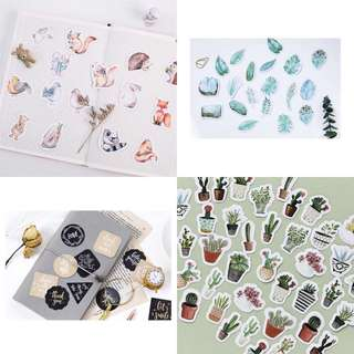 Pre-orders OPEN - Stickers, washi tape, pouches