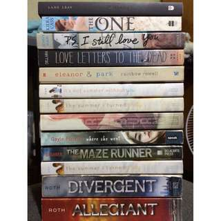 Open for swap to other YA books!