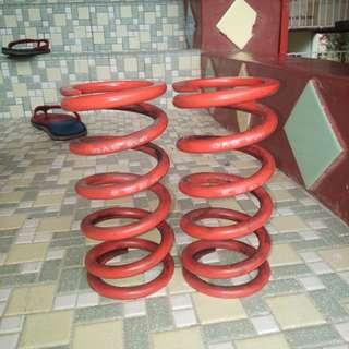 spring GAB 8k,tabung tengah PRO1,bar depan satria wira,exos apex 2inci
