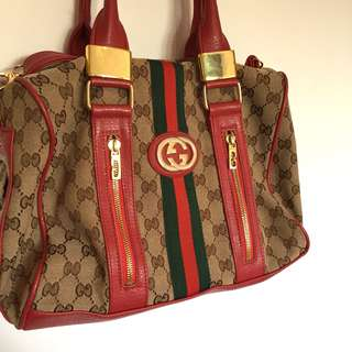 Vintage Gucci monogram bag