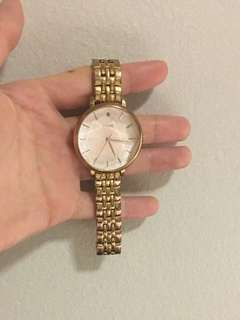 Fossil Rose Gold Watch *new condition*
