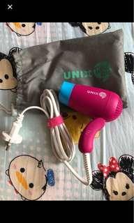 韓國 UNIX 旅行風筒 九成九新