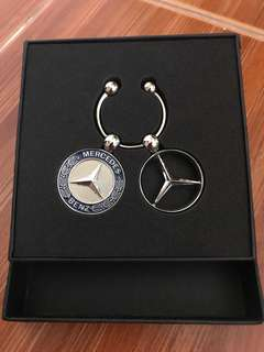 Authentic Mercedes-Benz Key Ring