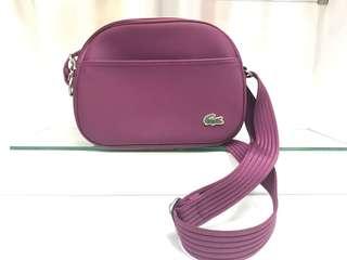 Original Lacoste Plum Purple Hand Bag