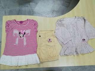 Preloved girls apparel set