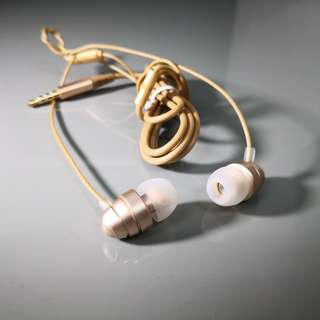 Hoco Colorful Earphone (M5) - Gold