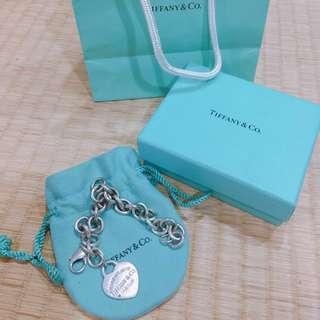 🚚 Tiffany&Co經典愛心手鍊