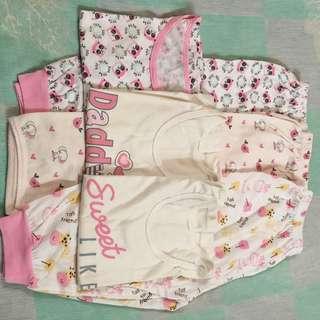 Sleeping clothes bundle