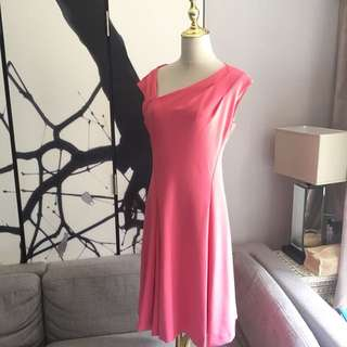 New with tags Donna Karen Lipstip Pink Dress