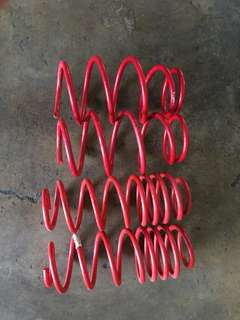 Toyota Vios 08-12 IMP Sport Lowered Spring