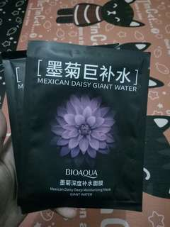 Face mask mexican daisy