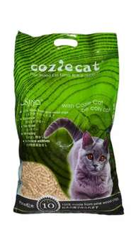 Cozie Cat Pine Wood pallet Cat Litter