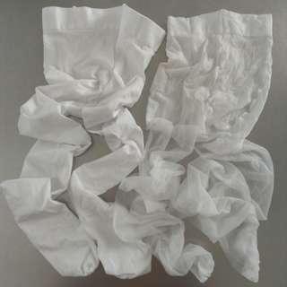 白色50D+20D令身絲襪各一對 (包平郵)