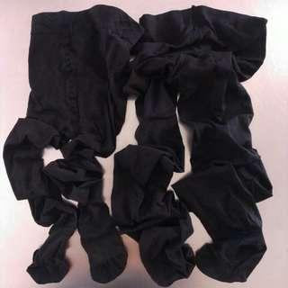 黑色80D+40D令身絲襪各一對 (包平郵)