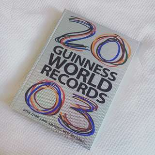 Guinness Book of World Records: 2003