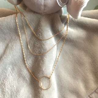 Layered O-ring Necklace