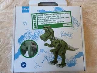 恐龍 立體組合玩具