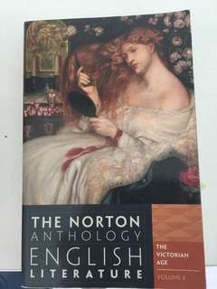 Norton Anthology English literature volume E (the Victorian age)