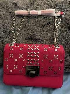 Authentic Mk Tina chain bag