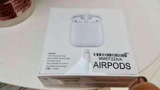 Apple Airpods 100% 全新 未開封