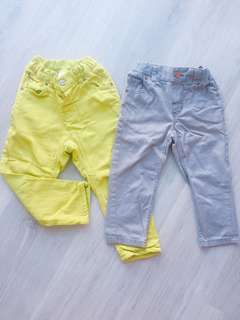 Baby H&M 2pcs Pants