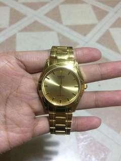 Cashio Gold Watch