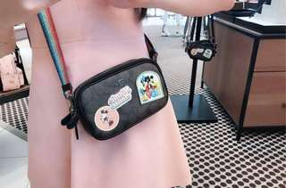 Coach x Disney limited edition crossbody pouch ❤❤