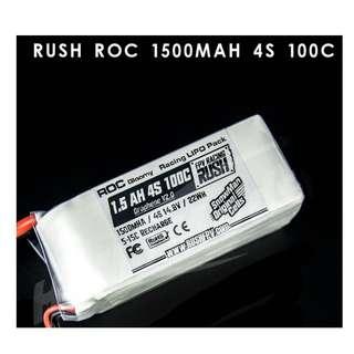 Snowman 1500mAh 4S 100C LIPO Battery