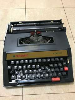 Panasonic typewriter