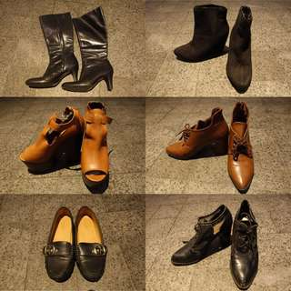 Boots, Booties, Wedges, Flats Clearance