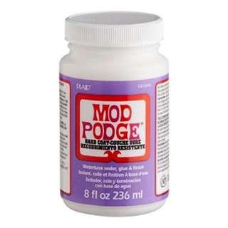 Modge Podge. Hard Coat . Multi-purpose . Multi-surface . Craft Glue . 236ml