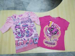 T Shirt 2 pieces