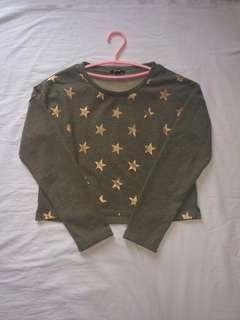 Kiabi crop sweatshirt