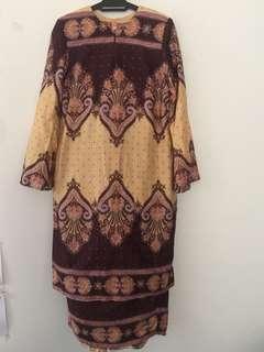 Baju Kurung Moden cotton viscose