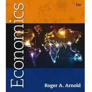 Economics 11th Eleventh Edition by Roger A. Arnold - Cengage Learning
