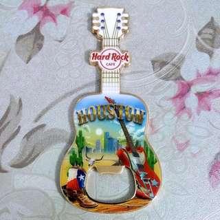 Hard Rock Cafe 'Bottle Opener' Guitar Magnet