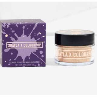 BOOMIN' SHAYLA X COLOURPOP Luster Dust Loose Highlighter