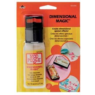 Modge Podge . Dimensional Magic . Multi-purpose . Multi-surface . Craft Glue . 59ml