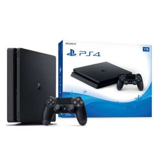 new console ps4 slim 1TB non-local set bundle with new overwatch game