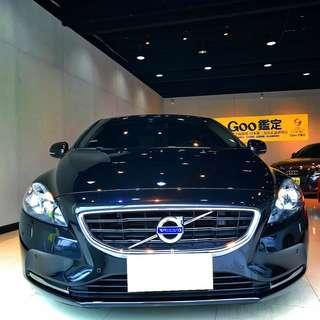 2014年V40黑色T4 可以全額超貸低利率喜歡諮詢現場看車