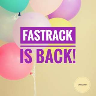 FINALLY!!! FASTRACK IS BACK!