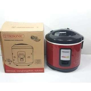 Rice Cooker 1.5 liter trisonic BAGUS dan MURAH